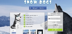 Gra Snow Dogs