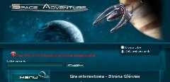Gra SpaceAdventure